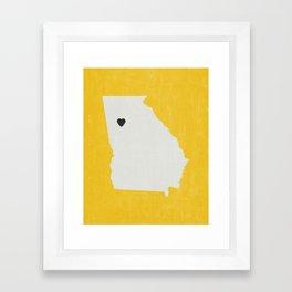 Georgia Love Framed Art Print