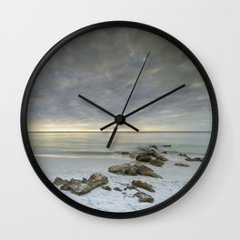 Naples Seascape 2/12 Wall Clock