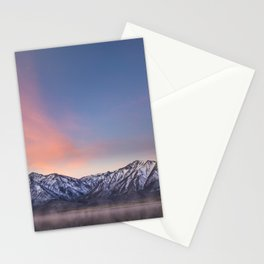 """Pretty in Pink"" -- an Eastern Sierra sunrise Stationery Cards"