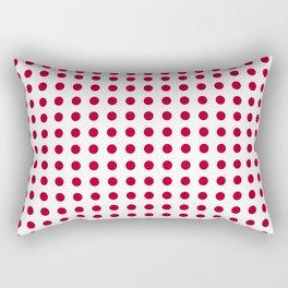 Abstract from the flag of japan – japanese,red,sun,asia,nippon,tokyo,edo,osaka,nagoya,ikebana,noh. Rectangular Pillow