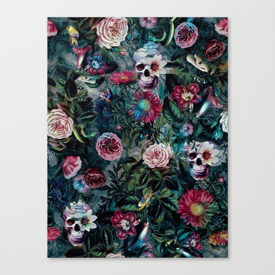 Poisonous Forest Canvas Print