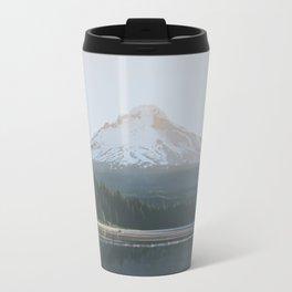 Trillium Lake Sunrise Travel Mug