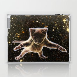 Kitten. In. Space. Laptop & iPad Skin