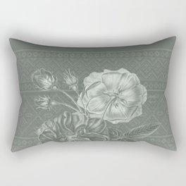 Flower - Argyle 2 Rectangular Pillow