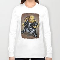 resident evil Long Sleeve T-shirts featuring Nemesis: Resident Evil by Patrick Scullin