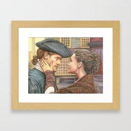 A brand new world Framed Art Print