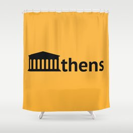 Athens Shower Curtain