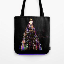 Hip Christmas Tote Bag