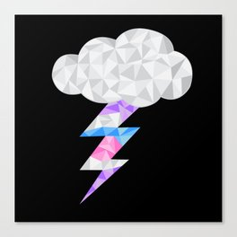 Intersex Storm Cloud Canvas Print