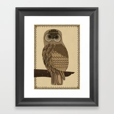 The Laughing Owl Framed Art Print