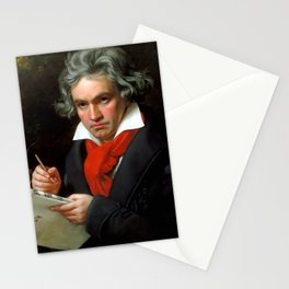 Ludwig van Beethoven (1770-1827) by Joseph Karl Stieler, 1820 Stationery Cards