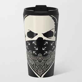 Cover your Mouth Metal Travel Mug