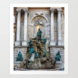 Matthias Fountain Art Print