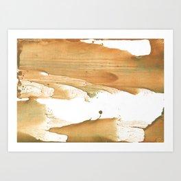 Peru abstract Art Print