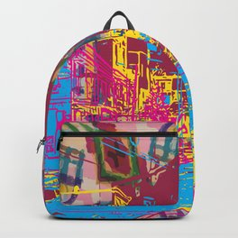 Paint the town Backpack