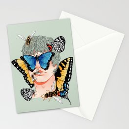 Butterfly Boy Stationery Cards