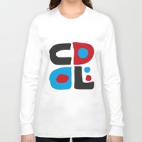 code Long Sleeve T-shirts featuring CODE by Apolo Arauz