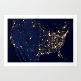 Views of the United States Art Print