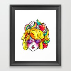 Harvest Cutie Framed Art Print