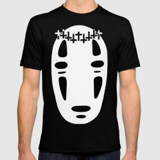 Woe Face Black Mens Fitted Tee MEDIUM