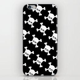 Skull Crossbones Symbol iPhone Skin