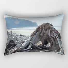 Cape Meares Beach in Oregon Rectangular Pillow