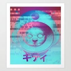 Kitty Of The Rising Sun Art Print