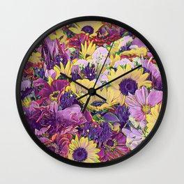 Floral Joy 3191 Wall Clock