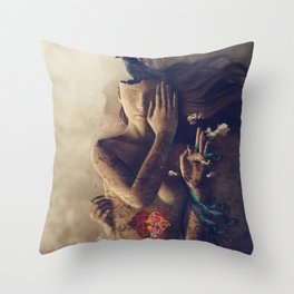 Inner Oracle Throw Pillow