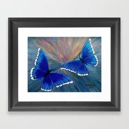 Butterflies-2  Framed Art Print