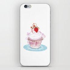 Strawberry Cupcake  iPhone & iPod Skin