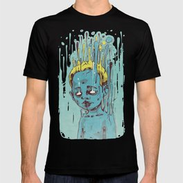 The Blue Boy with Golden Hair T-shirt
