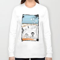 fear and loathing Long Sleeve T-shirts featuring Fear and Loathing in Albuquerque II by Evan