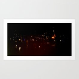 Lost in Some City No. 13 Art Print