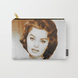 Sophia Loren, Hollywood Legend Carry-All Pouch