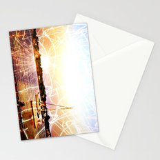 Boats and Lights Stationery Cards