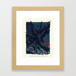 Welcome to the Jungle Inside my Head. Framed Art Print