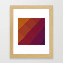 Square Abstract Gradient Art Framed Art Print