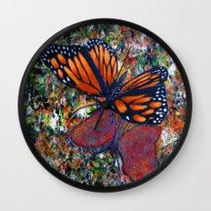 Butterfly-7 Wall Clock
