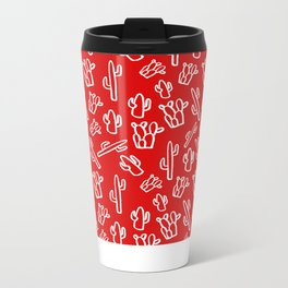 Mexican Fiesta Metal Travel Mug
