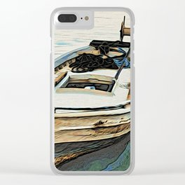 The Boat Clear iPhone Case