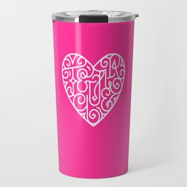 Te quiero. Pink Travel Mug