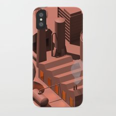Low Poly Industry iPhone X Slim Case