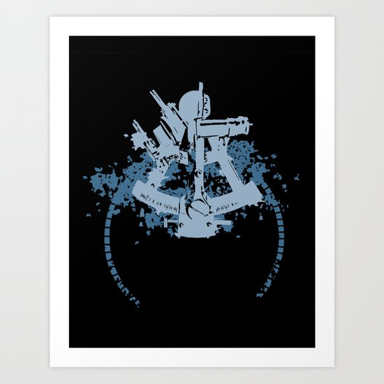 Sextant Art Print