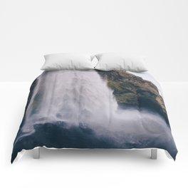 Waterfall 04 Comforters