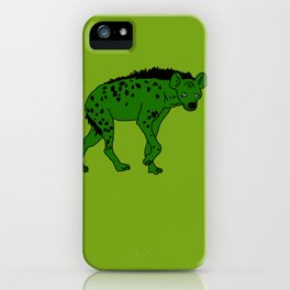 The aberrant hyena iPhone Case