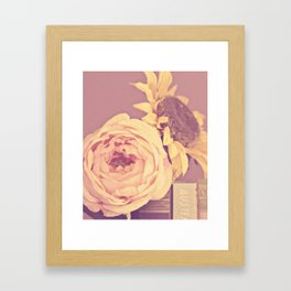 floral beauty no. 4 Framed Art Print
