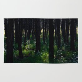 Parallel Forest Rug