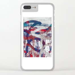 i will reach out Clear iPhone Case