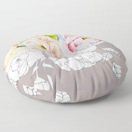 Peaoniaceae Floor Pillow